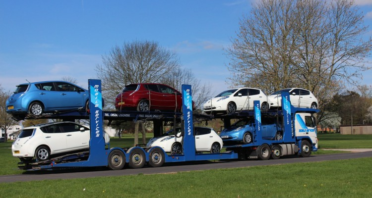 New EVs being delivered to WREV businesses
