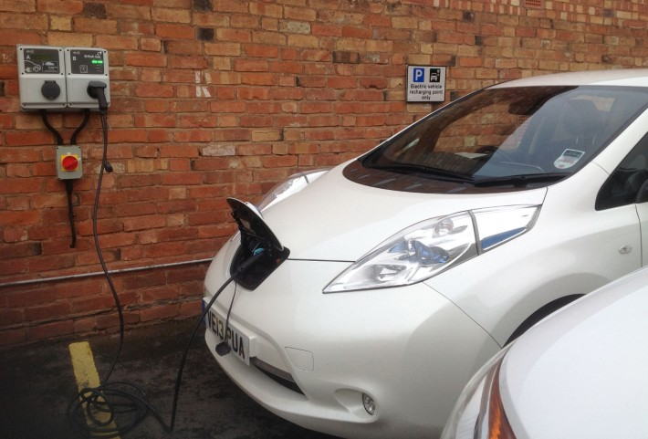Electric Vehicles are easy to charge up - just plug in!