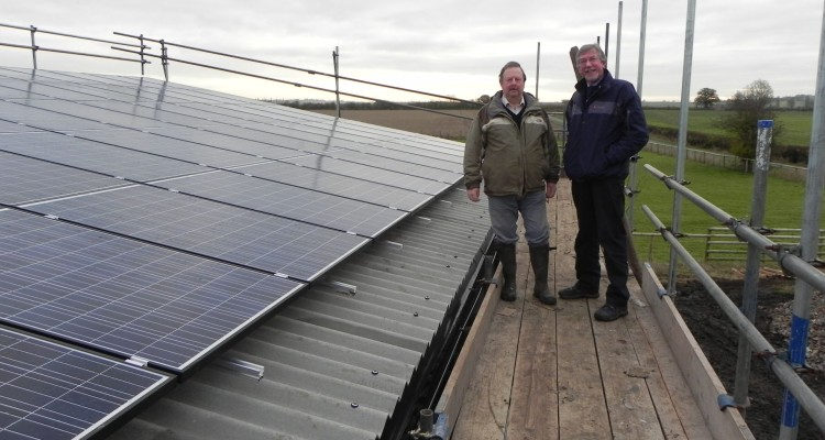 Granborough Fields Farm - Warwickshire , PV install - Greenwatt