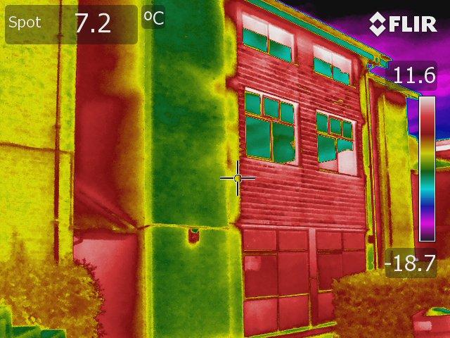 40 AGS school wall heat loss