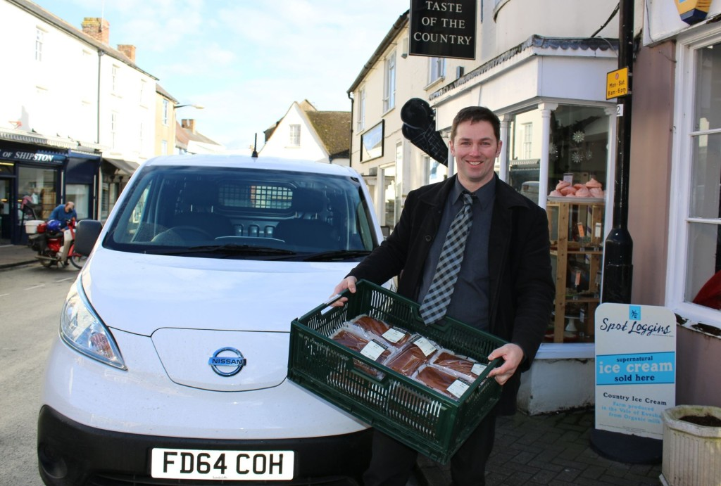 Taste of the Country - Shipston on Stour, delivers with an electric vehicle
