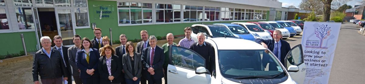 Warwickshire Rural Electric Vehicle project (WREV) page header image